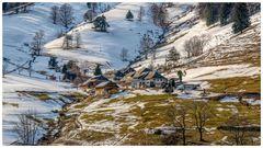 Der Weiler am Berg