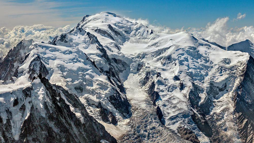 Der WEISSE BERG - Mont Blanc - Monte Bianco - 4.810m -