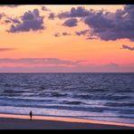 ...der weite Blick über das abendliche Meer... (See-Romantik)