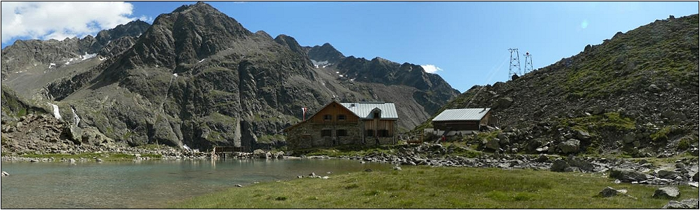 Der Winnebachsee mit seiner Hütte