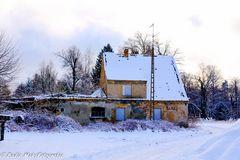 Der Winter im Dorf