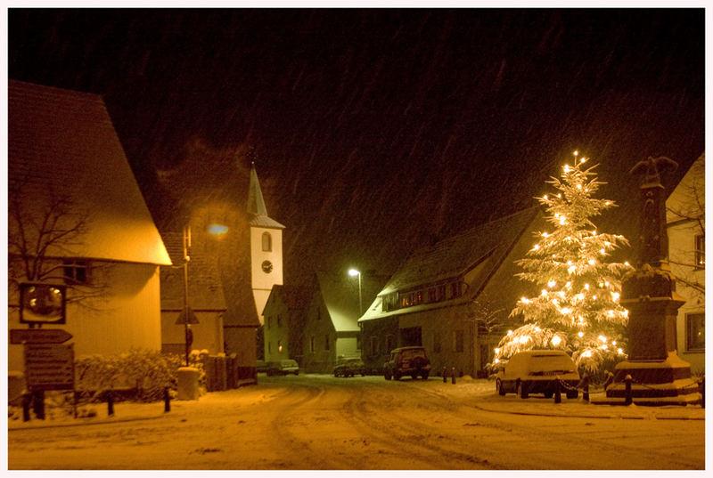 Der Winter ist auch in der Rheinebene angekommen
