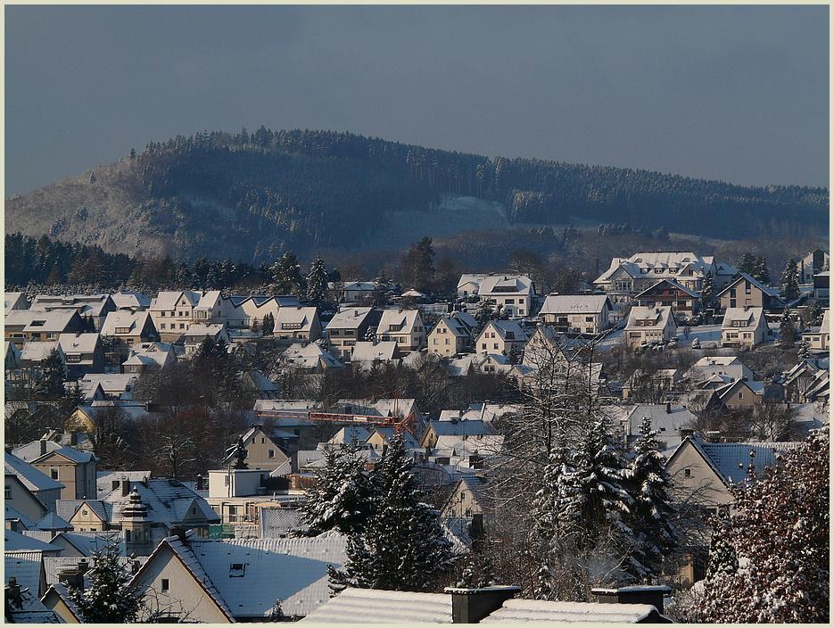Der Winter ist zurück !