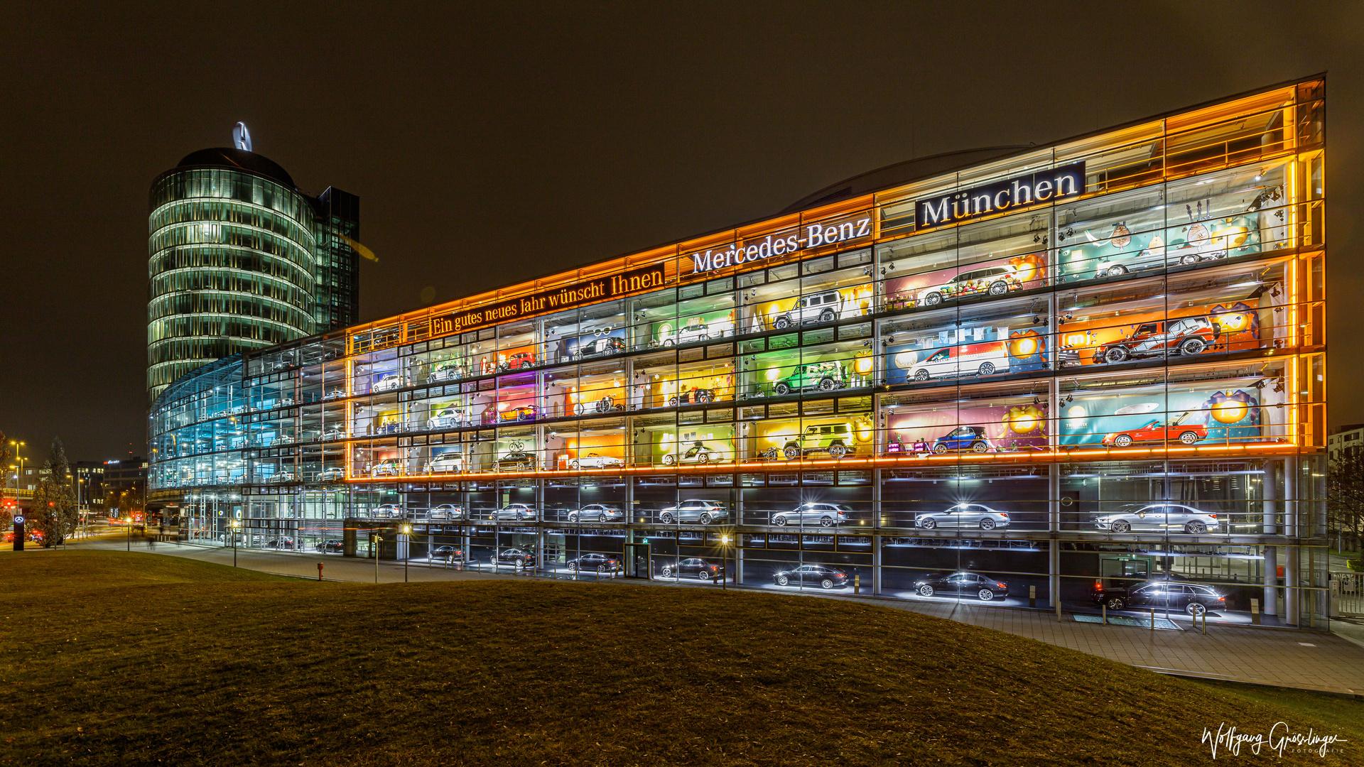 Der wohl grösste Advendskalender von München