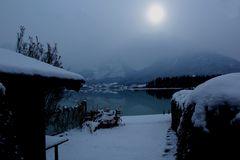 Der Wolfgangsee im Winter