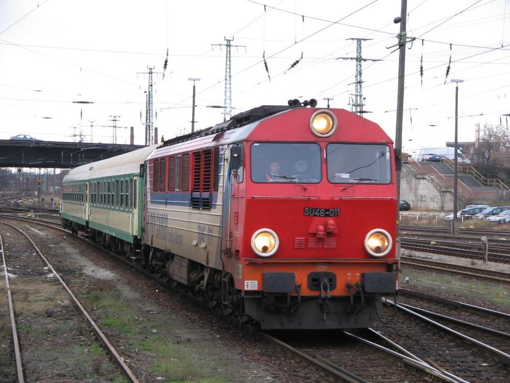 Der Zagan-Express erreicht zum ersten mal Cottbus [2007|12|14]
