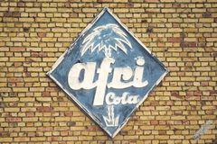 Der Zahn der Zeit nagt an Afri Cola ...