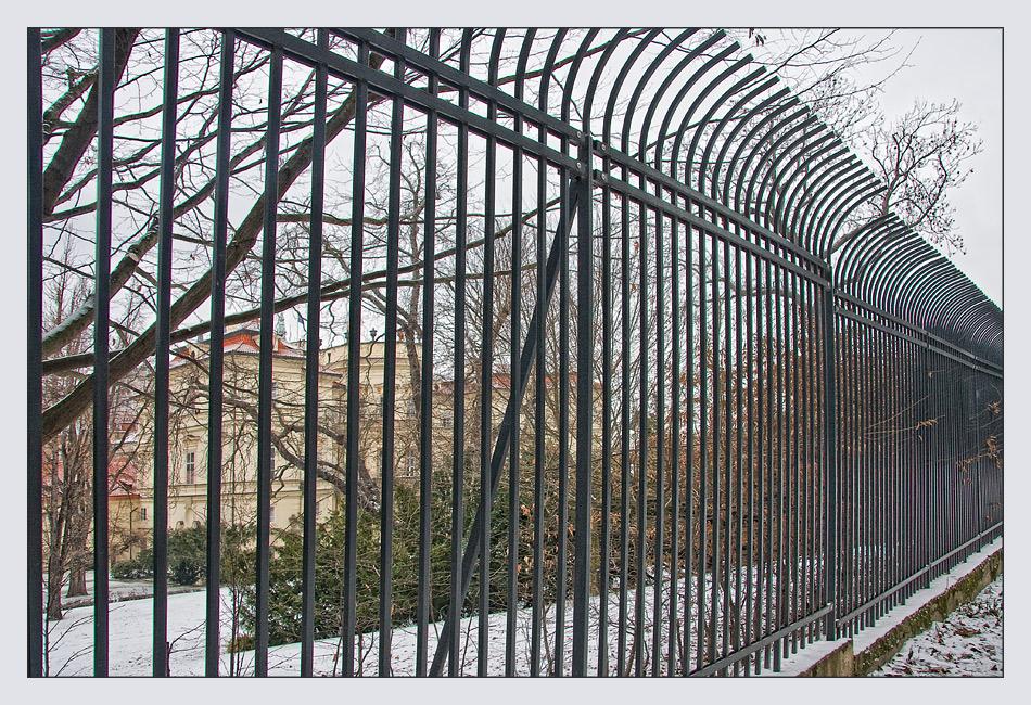 Der Zaun, der Geschichte schrieb