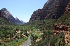 Der Zion Canyon im Süden Utahs...