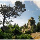 Der Zipfeltannenfelsen im Steinwald