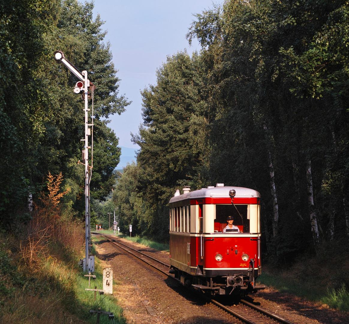 Der Zittauer Triebwagen ...