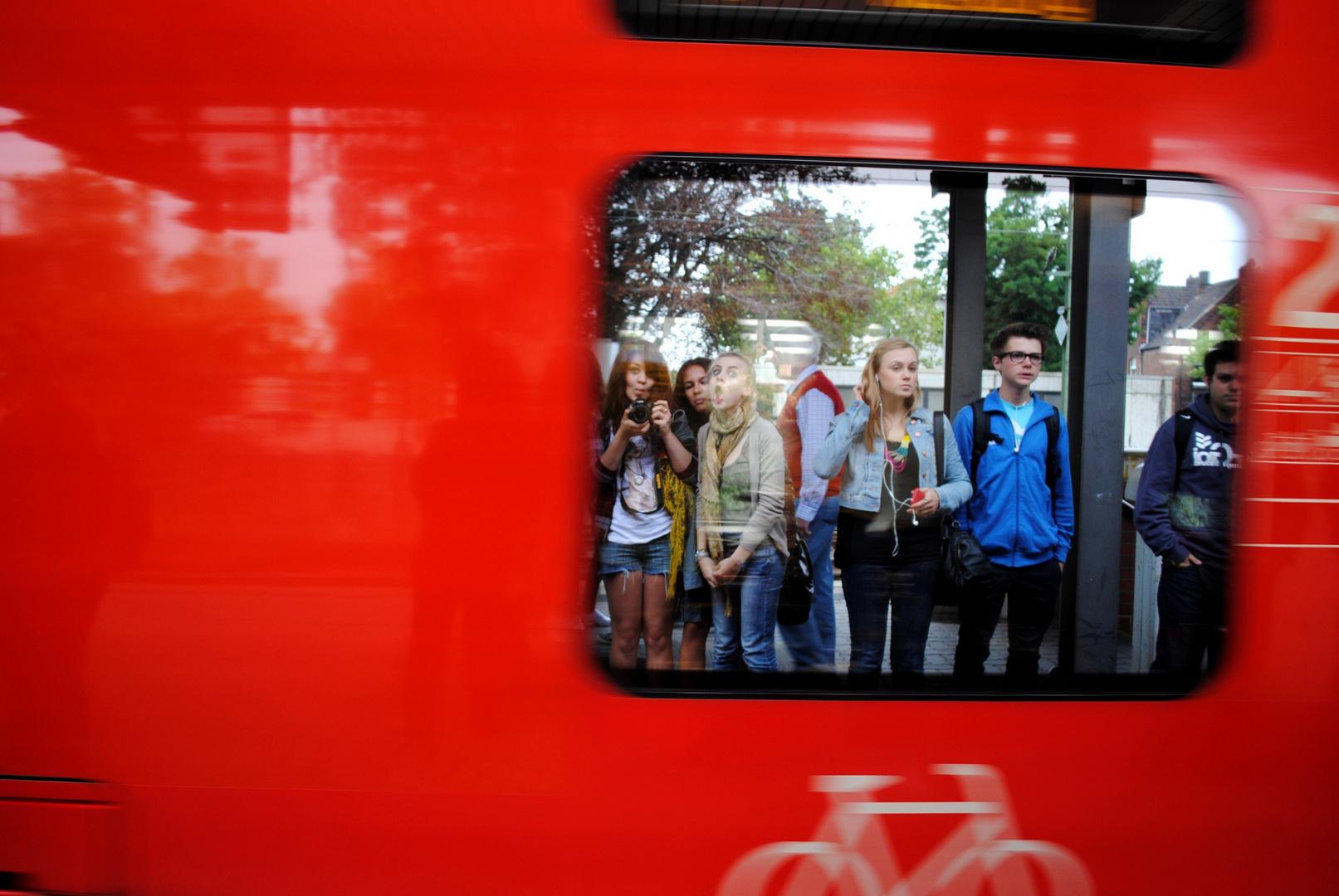 Der Zug nimmt uns mit, bis nach Panama.