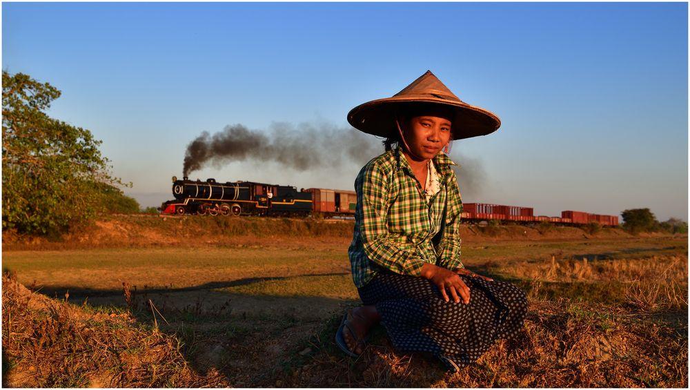 Der Zug und das Mädchen