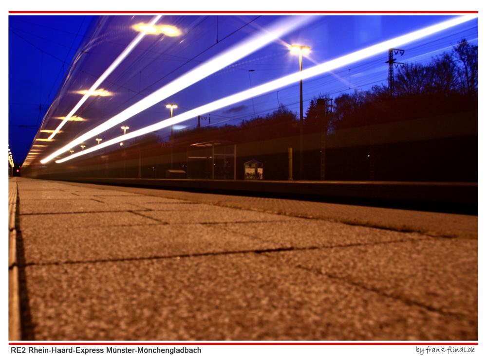 Der Zug zum Job....