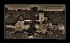 der zweite Burghof....