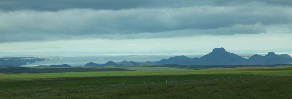 Der zweitgrößte Gletscher Islands: Langjökull