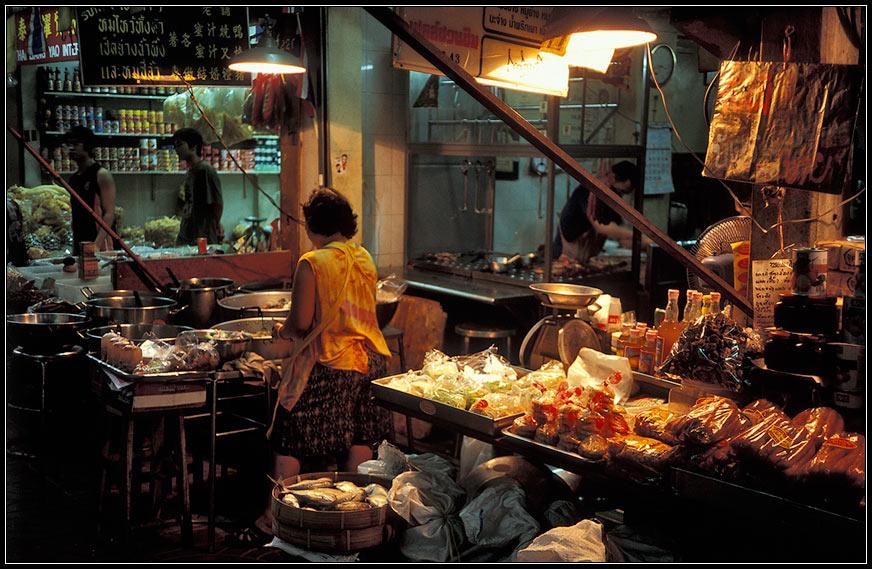 Der Zwischenstop in Bangkok...