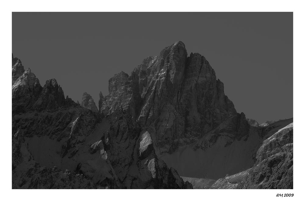 Der Zwölferkofel 3094m Croda dei Toni