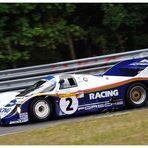 Derek Bell auf Porsche 956