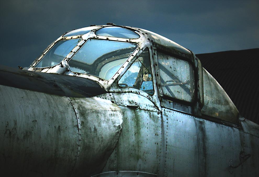 Derelict plane