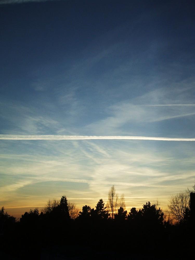 Des avions sont passés par là...