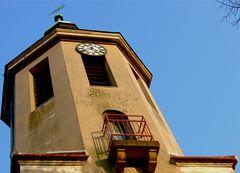 °°° Des Glöckners Balkon - Kirchturm zu Stolzenhain anno 2011 °°°