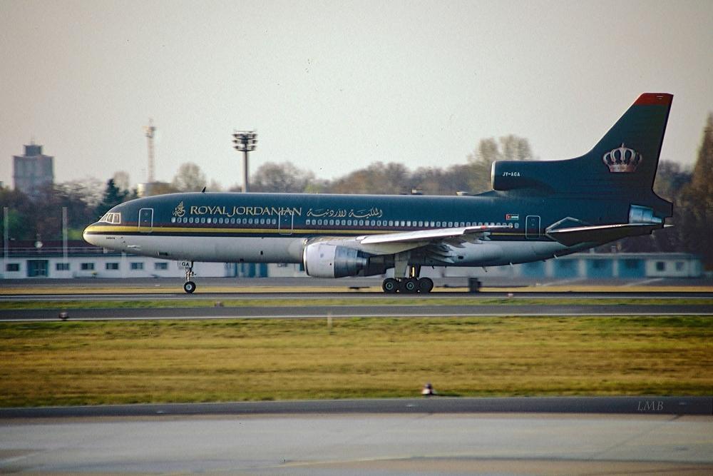 Des Königs Flugzeug