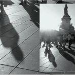 Des ombres soudain s'étirent au pied de la République......