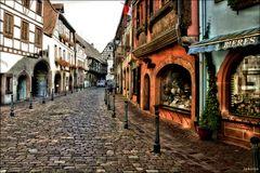 """"""" Des ruelles en Alsace"""""""