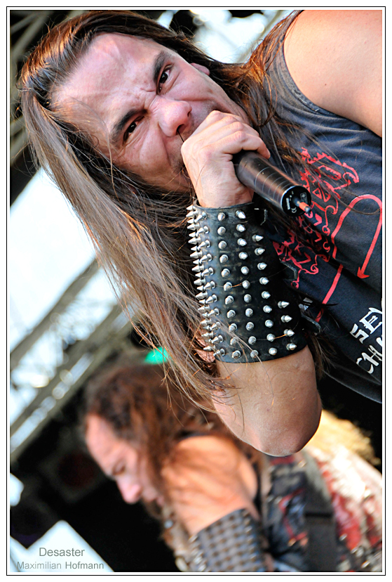 Desaster @ Rock Area Festival 2008, Losheim