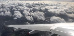 Descent into the cloud cover