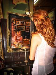 Descubriéndome en el espejo!!!