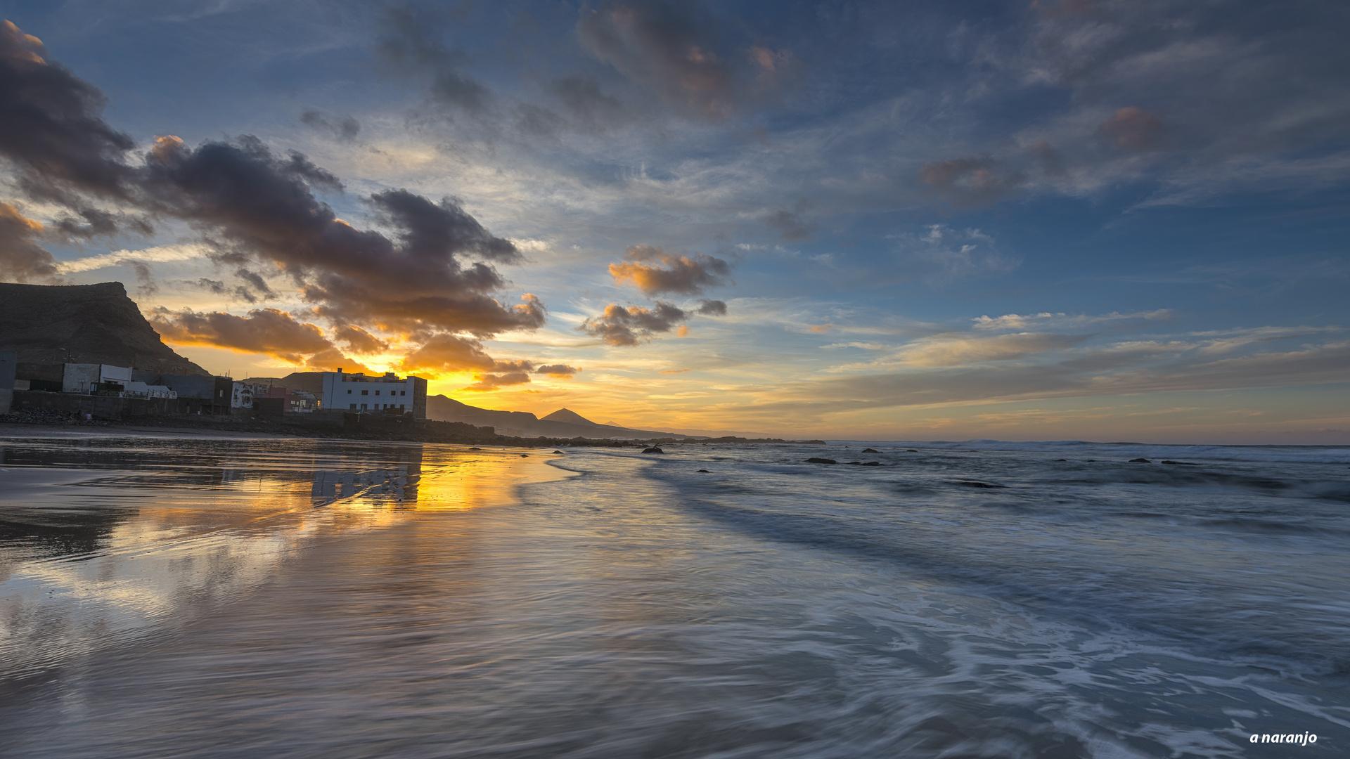 desde Costa Norte . Gran Canaria