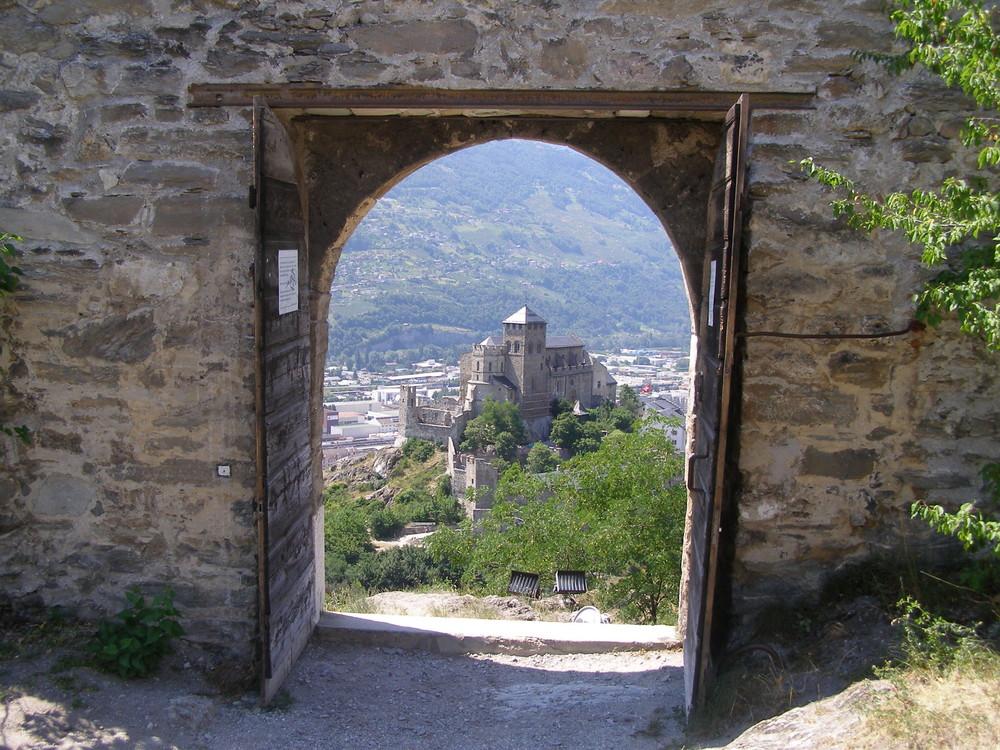 desde el castillo de sion