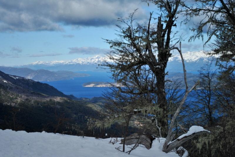 Desde el Cerro Bayo, Neuquen, Argentina