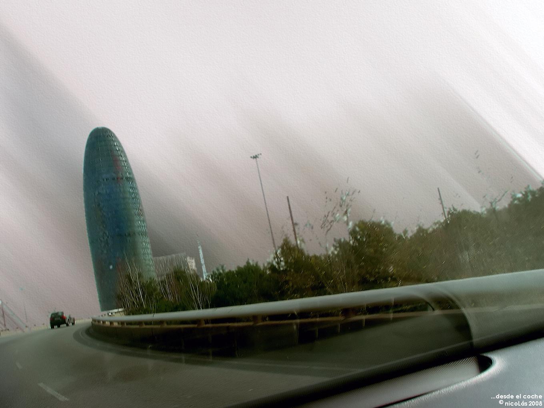 Desde el coche....