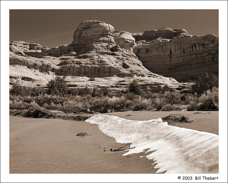 Desert Snow 4 (S/W)