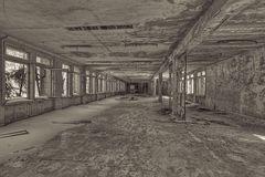 deserted school