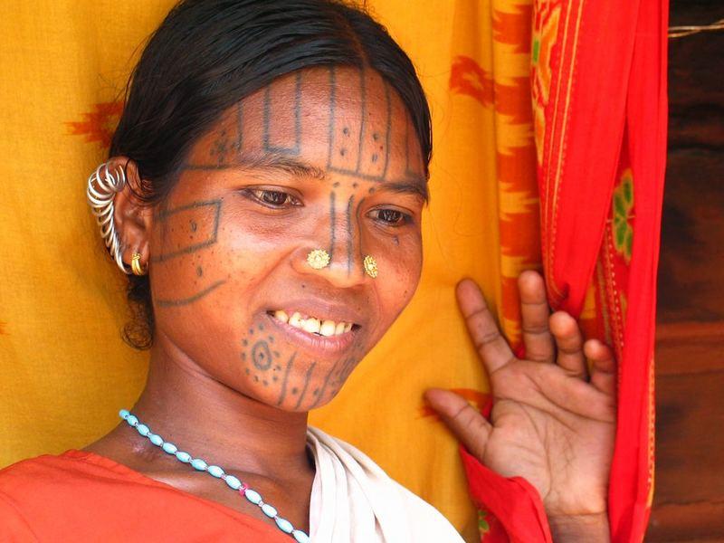 Desia Khond Frau Orissa