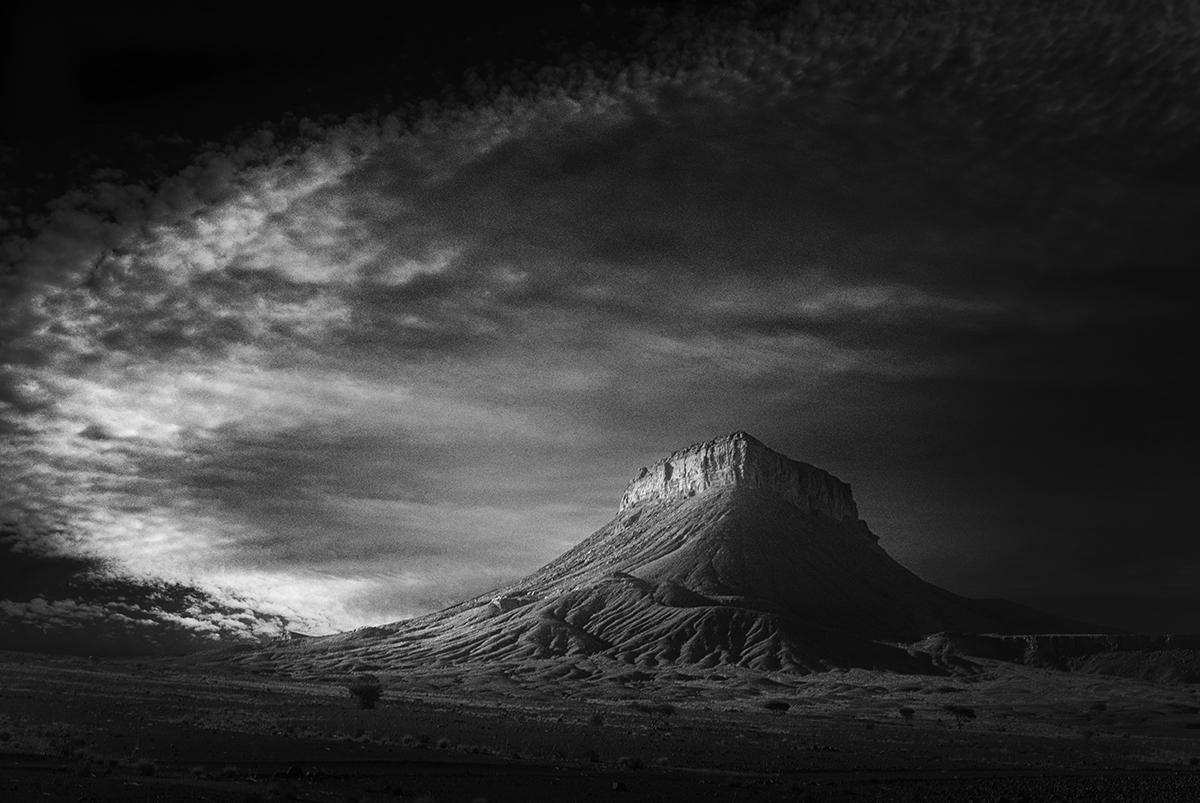 Desierto de Marruecos.