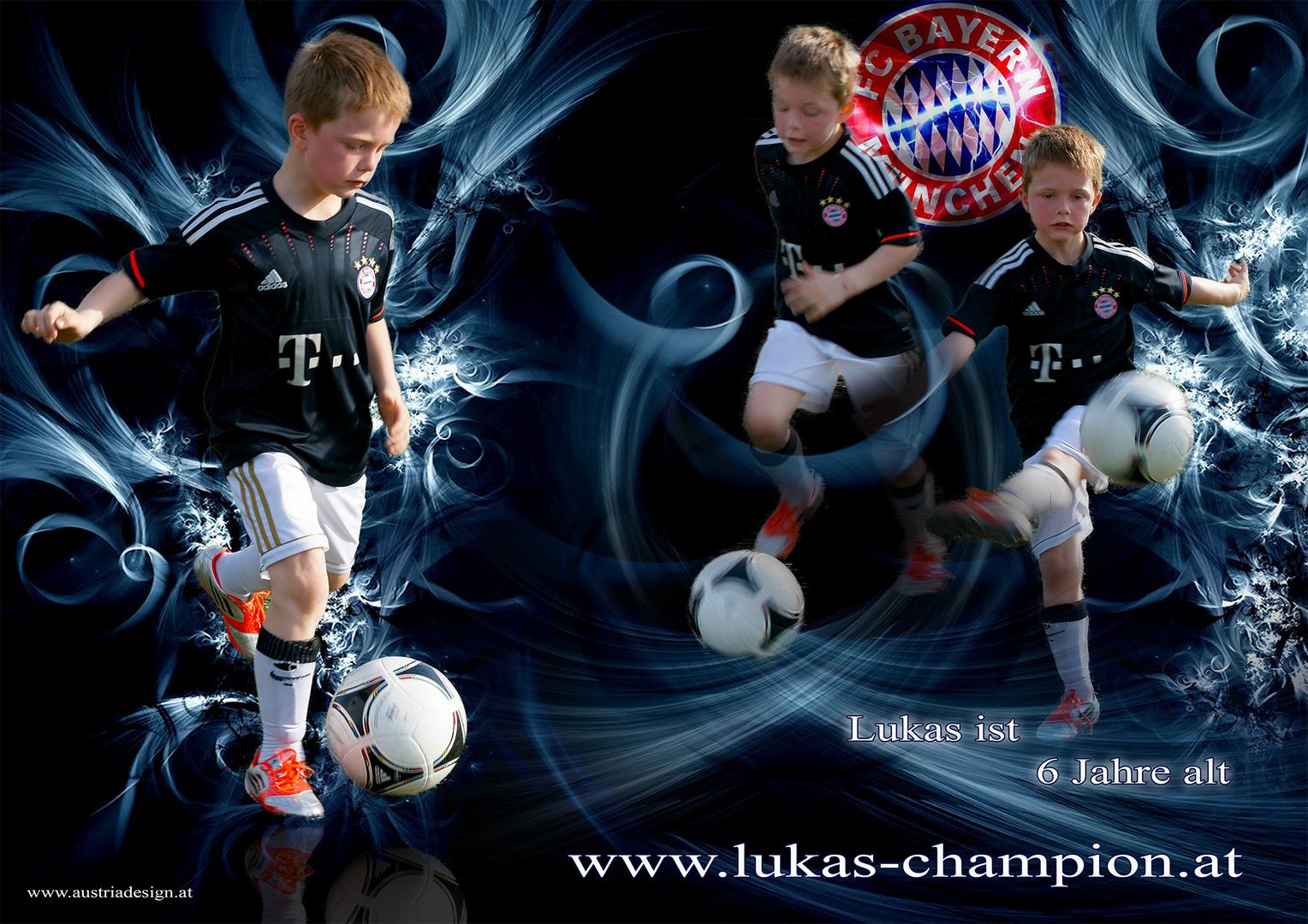 Design Bild von Lukas Dreier der Sportler.