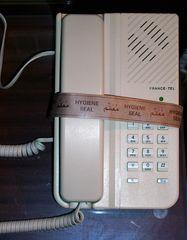 Desinfiziertes Telefon