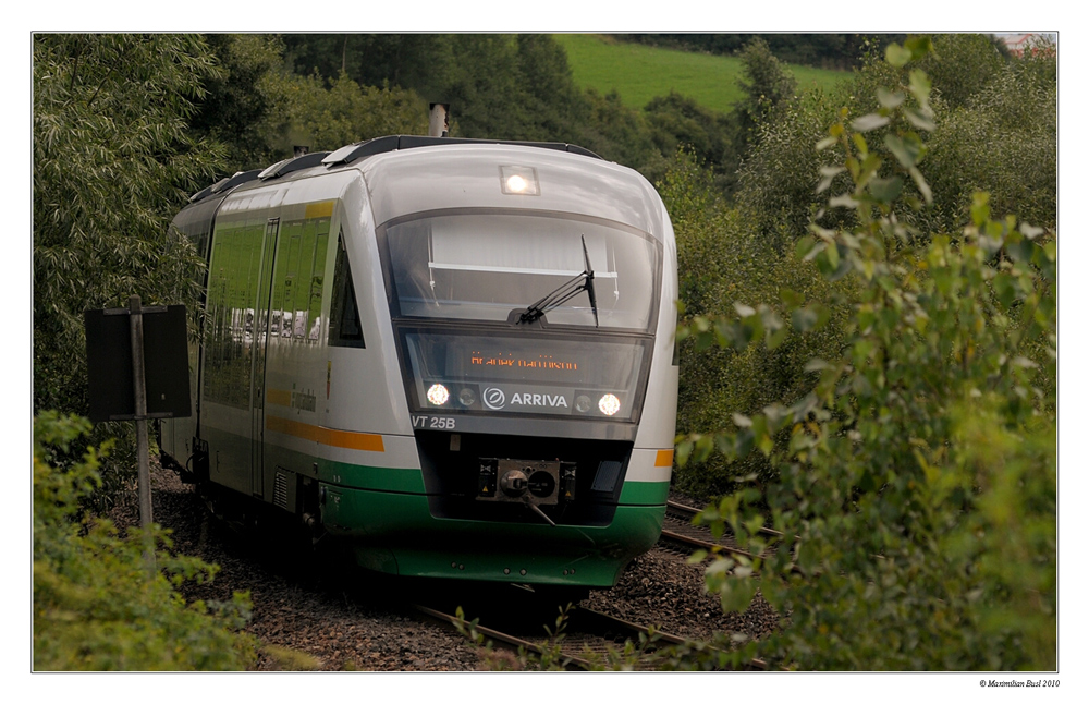 Desiro der Vogtlandbahn