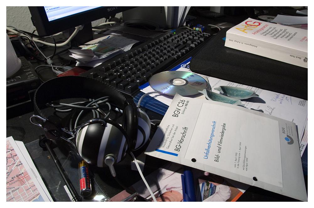 Desktop overload