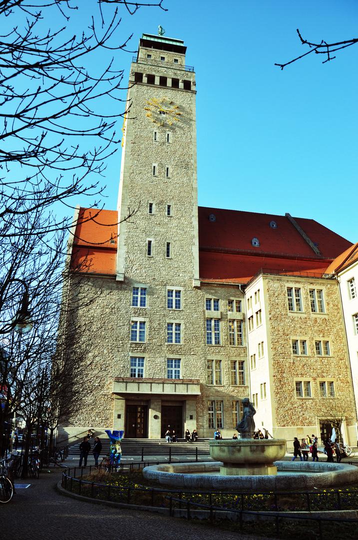 det Rathaus von Neukölln