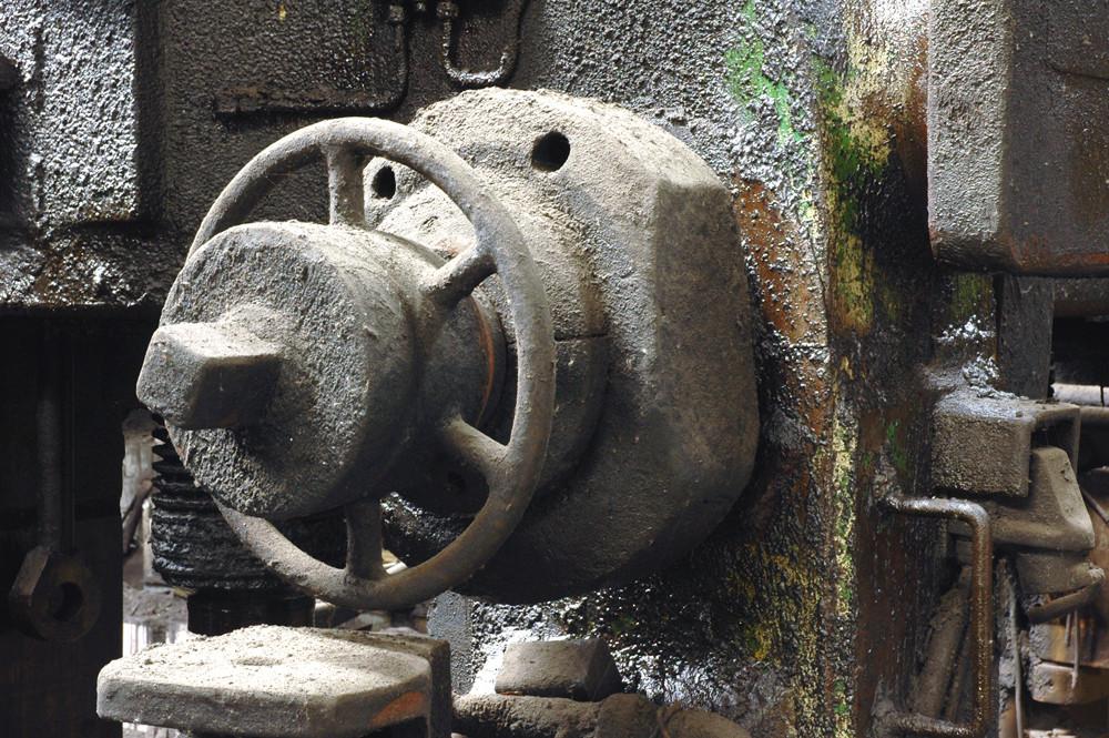 Detail am Walzgerüst Foto & Bild | industrie und technik, industrie ...