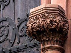 Detail an der Münsterpforte