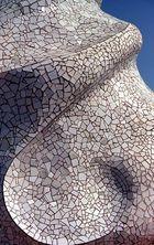 Detail auf dem Dach der Casa Milá, Gaudi