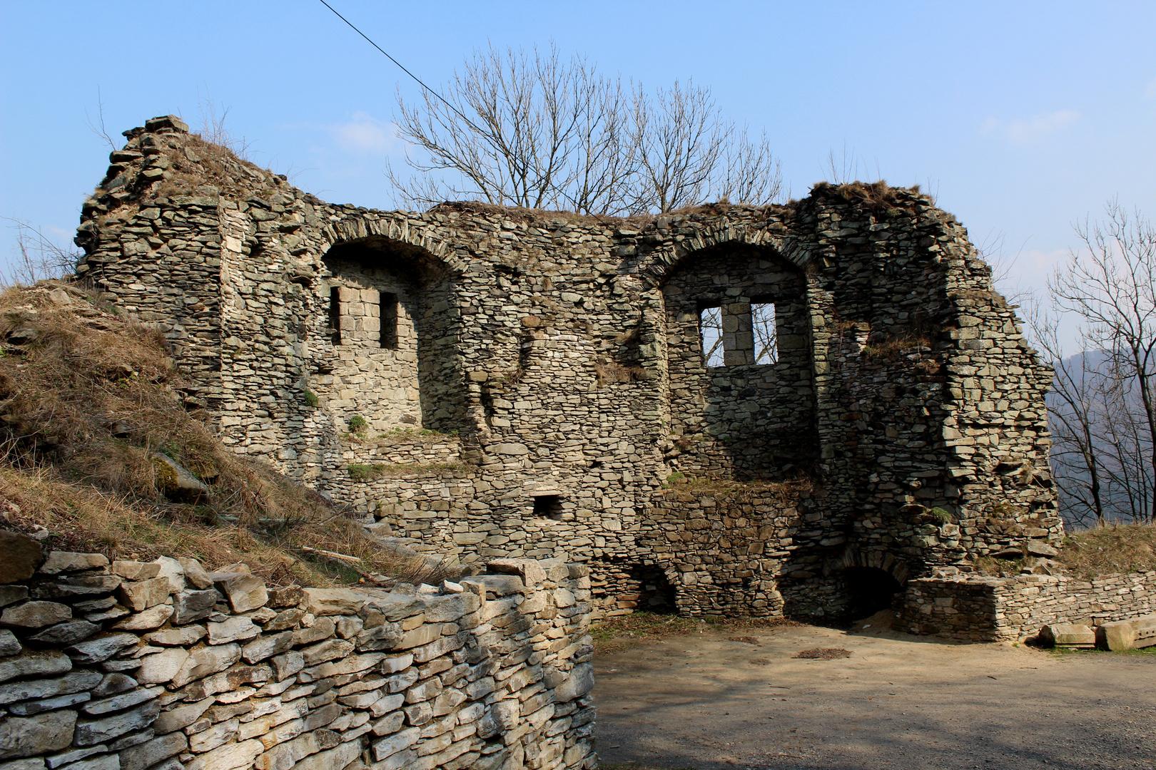 Detail auf der Burgruine Tollstein (Tolstejn)