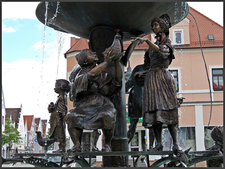 Detail aus dem Brunnen in Ehingen I